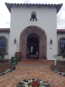 Main Entrance featuring intricately designed arched borders create a dramatic entrance.